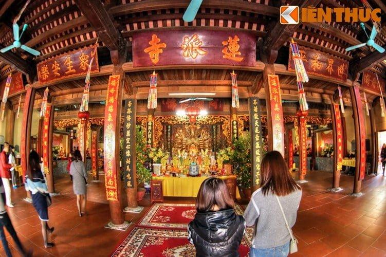 Chua Lien Phai - doa sen tuyet dep cua kinh thanh Thang Long-Hinh-11