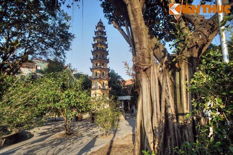 Chua Lien Phai - doa sen tuyet dep cua kinh thanh Thang Long-Hinh-3