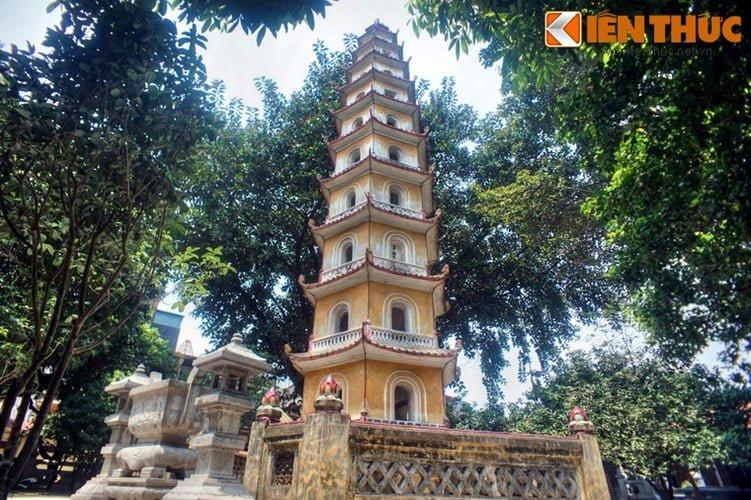 Chua Lien Phai - doa sen tuyet dep cua kinh thanh Thang Long-Hinh-5