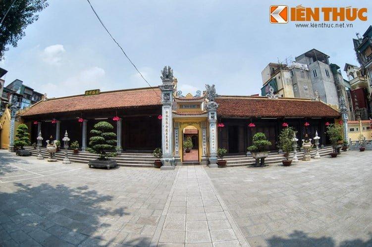 Chua Lien Phai - doa sen tuyet dep cua kinh thanh Thang Long-Hinh-9