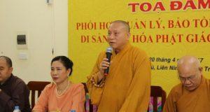 Hà Nội: Tọa đàm về bảo tồn, phát huy di sản văn hóa Phật giáo Việt Nam